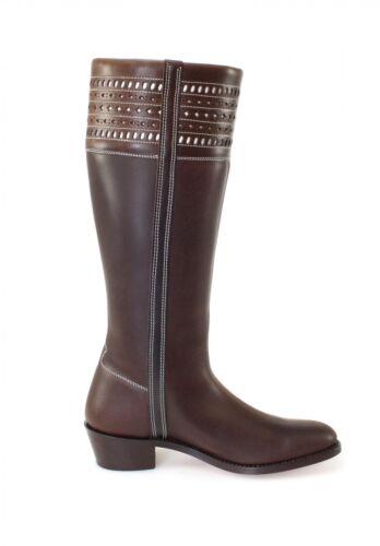 Boots Estribo Brown Riding Boots 1018 Fashion El FcSTBWS