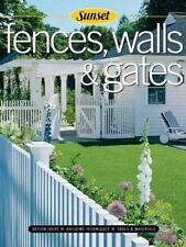 Fences, Walls & Gates softcover: Building Techniques, Tools and Materials,