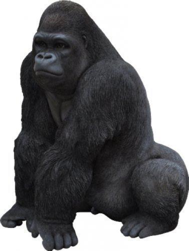 Large Gorilla Resin Ornament Monkey Figure Statue Garden Decoration Indoor Home