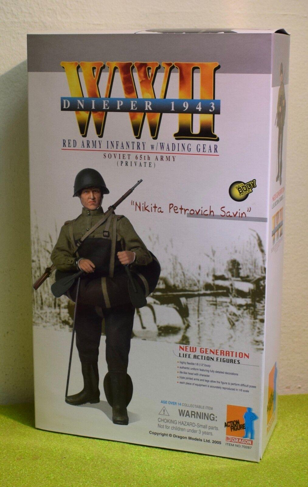 DRAGON 1 6 WORLD WAR II RUSSIAN NIKITA PETROVICH SAVIN  Private rot Army Infanty