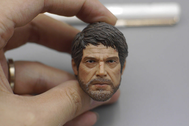 1 6 Scale CC TOYS TOYS TOYS Joe Head Carving Figure Model Collection The Last of Us 7c5961