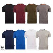 Roberto Barini Herren T-Shirt Kurzarm Basic Rundhals Regular Fit 1er/3er/5er Set