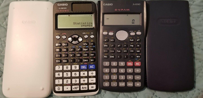 Schutztasche Casio FX 82 MS 2 Geometrie Set