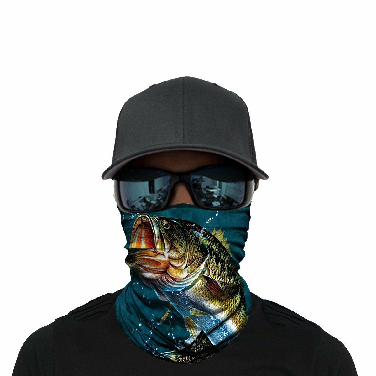 ALAZA Cute Sloths Tropical Palm Leaf Headwear Face Magic Scarf Mask Headband Bandana Neck Gaiters Outdoor Sports for Women Men
