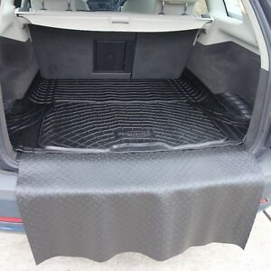 3 Pieces Tapis De Coffre Charge Protection Pare Chocs Saab 9 3