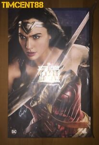 Ready! Hot Toys MMS451 Justice League 1/6 Wonder Woman Gal Gadot New Deluxe Ver