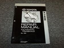 1986-1987 Toyota Celica GT GTS A140E Transmission Service Repair Manual ECT-S