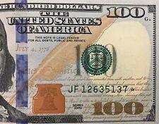 2009 $100 ONE HUNDRED DOLLARS ATLANTA * STAR * �� FRN, UNCIRCULATED BANKNOTE.
