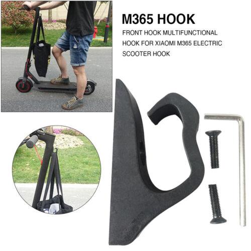 EE/_ Electric Scooter Front Hook Helmet Bag Hanger for Xiaomi Mijia M365 M187 Pro