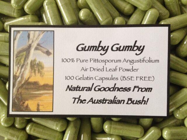 Gumby Gumby (Gumbi Gumbi) 100 Capsules - Hand Harvested From Organic Properties