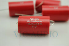 10pcs AudioPhiler 2.2uF 400V MKP CYCAP Tubular Audio Capacitor-4172