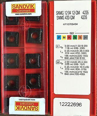 10 Sandvik SNMG 120412-QM 235