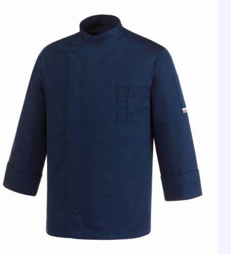 Kochjacke Chef Egochef Made in Italy Blau Saylor Billig Atmungsaktiv Jachet