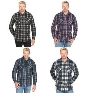 100% autentico 11dca b1506 Dettagli su Uomo Magneto Pile Felpato Lumberjack Camicia da Lavoro Outdoor  Casual