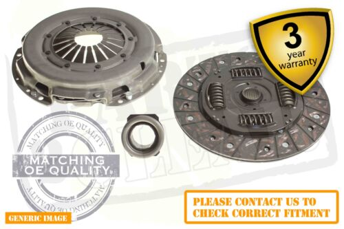 Opel Zafira A 2.0 Di 16V 3 Piece Complete Clutch Kit 82 Mpv 10.9906.05 On