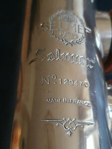Selmer Mark 6 soprano saxophone. The holy grail in Silver finish. 1965 build