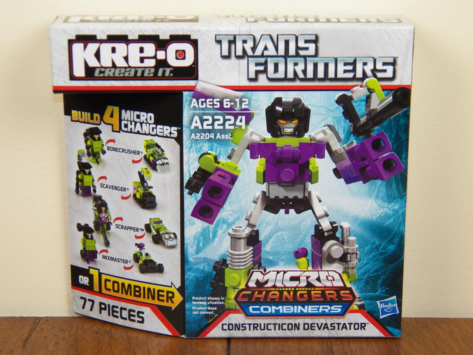 Kre-O Transformers Constructicon Devastator Micro Changers Combiners Kreo NEW