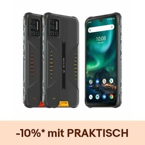 UMIDIGI BISON 6GB+128GB Outdoor Handy Robustes Smartphone Ohne Vertrag 5000mAh