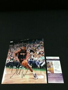 DORELL-WRIGHT-MIAMI-HEAT-SIGNED-8X10-PHOTO-JSA-COA-T38832