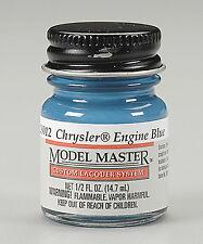 Testors Chrysler Engine Blue 1/2oz Lacquer Paint Bottle 28012 TES28012