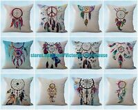 Us Seller- Set Of 10 Cushion Covers Native Indian Dream Catcher Cheap Pillow