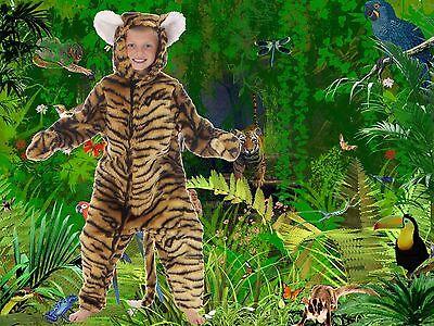 Stripey Tiger full length fancy dress up BNIP 4-12yo Book Week Costume Halloween