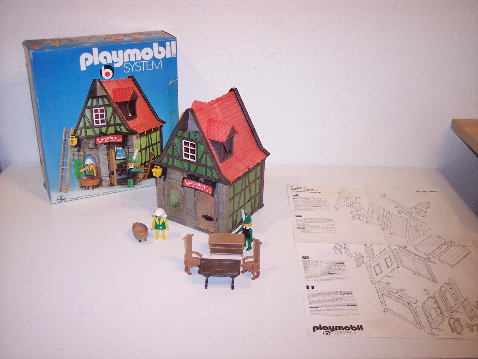 Playmobil 3440 OVP + BA schneiderei V1