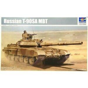 Trumpeter 1:35 T-90SA MBT Tank Russe Model Kit