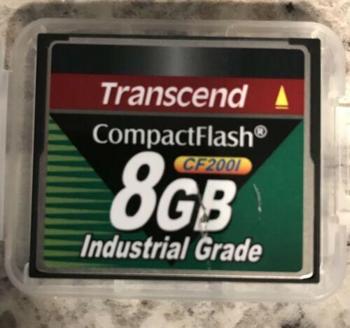 Transcend CompactFlash CF200I 8GB CF-2001 Industrial Grade