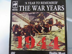 British Pathe The War Years 1944 DVD - <span itemprop=availableAtOrFrom>London, United Kingdom</span> - British Pathe The War Years 1944 DVD - London, United Kingdom