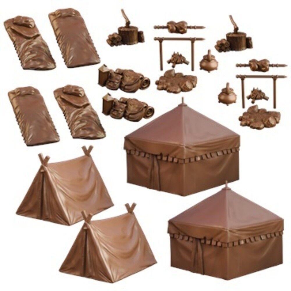Battlefield Camping - Terreno Cajón - - - Mantic Games - Decoración - ahora ed37f8