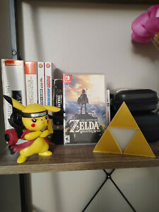 Triforce Legend of Zelda Video Game Logo Sign Decoration ~5in (videogame, decor)