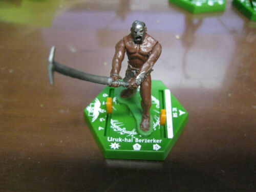 Lord of the Rings LOTR TMG Hex Combat Game Piece Uruk-hai Berzerker BS 31