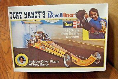 REVELL TONY NANCY'S REVELL-LINER REAR ENGINE DRAGSTER 1/25 SCALE MODEL KIT  31445041518 | eBay