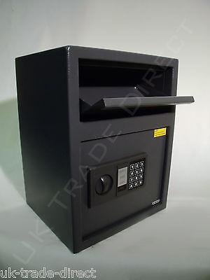 LARGE CASH DEPOSIT  SAFE HIGH SECURITY ELECTRONIC DROP SAFE
