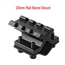 20mm Rail Barrel Mount Clamp for Rifle Gun Scope Light Laser Sighter Flashlight
