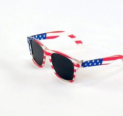 "18/"" Doll Patriotic Flag Sunglasses fits 18/"" Dolls Red White Blue Flag Sunglasses"