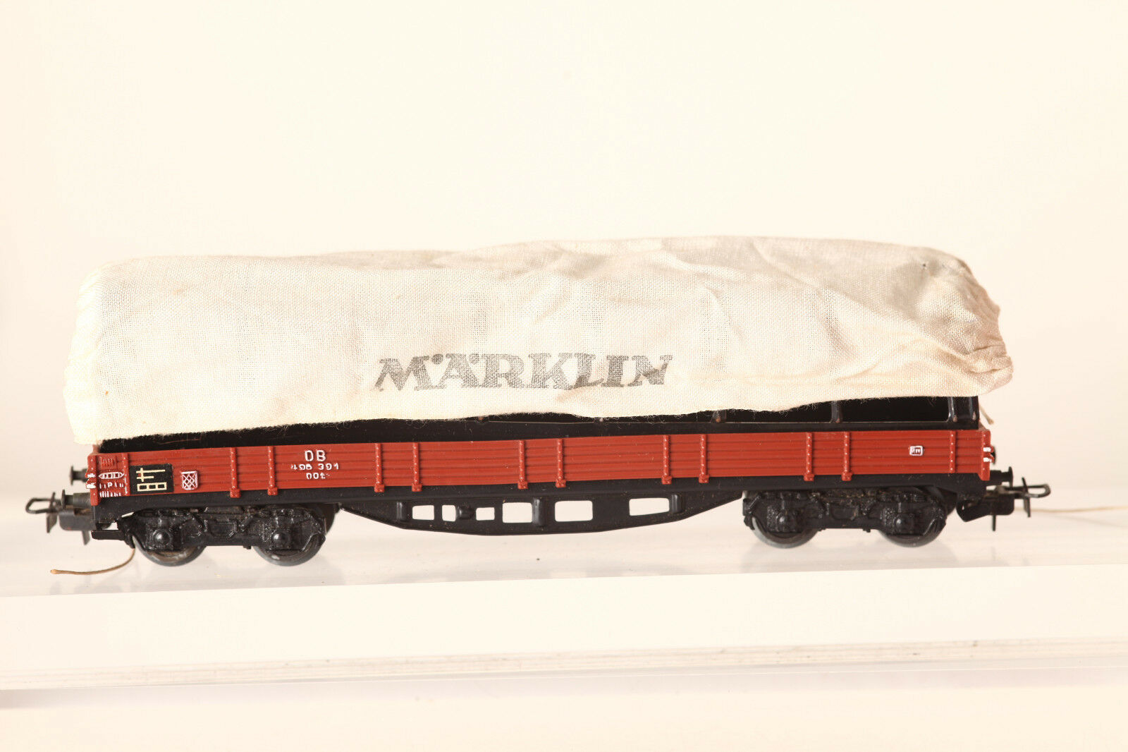 Märklin H0 4517 Planewagen DB 406 3914achsig browner  in OVP  (43558)
