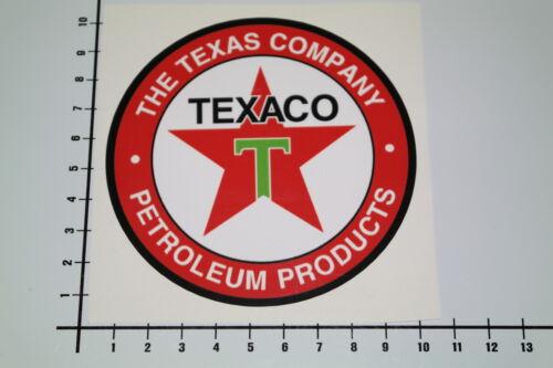 TEXACO TEXAS COMPANY Aufkleber Sticker V8 Oil Motorsport Speedshop JDM V6 Mi282