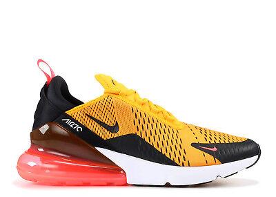 Nike Air Max 270 Tiger Black University Gold Hot Punch