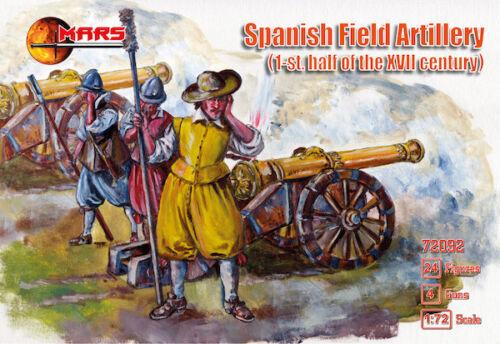- 1:72 1st.half of the XVII century Spanish Field Artillery Mars