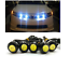 2x-23mm-Parking-Light-Eagle-Eye-LED-Car-Lights-DRL-Daytime-Running-Light-12V-9W thumbnail 3