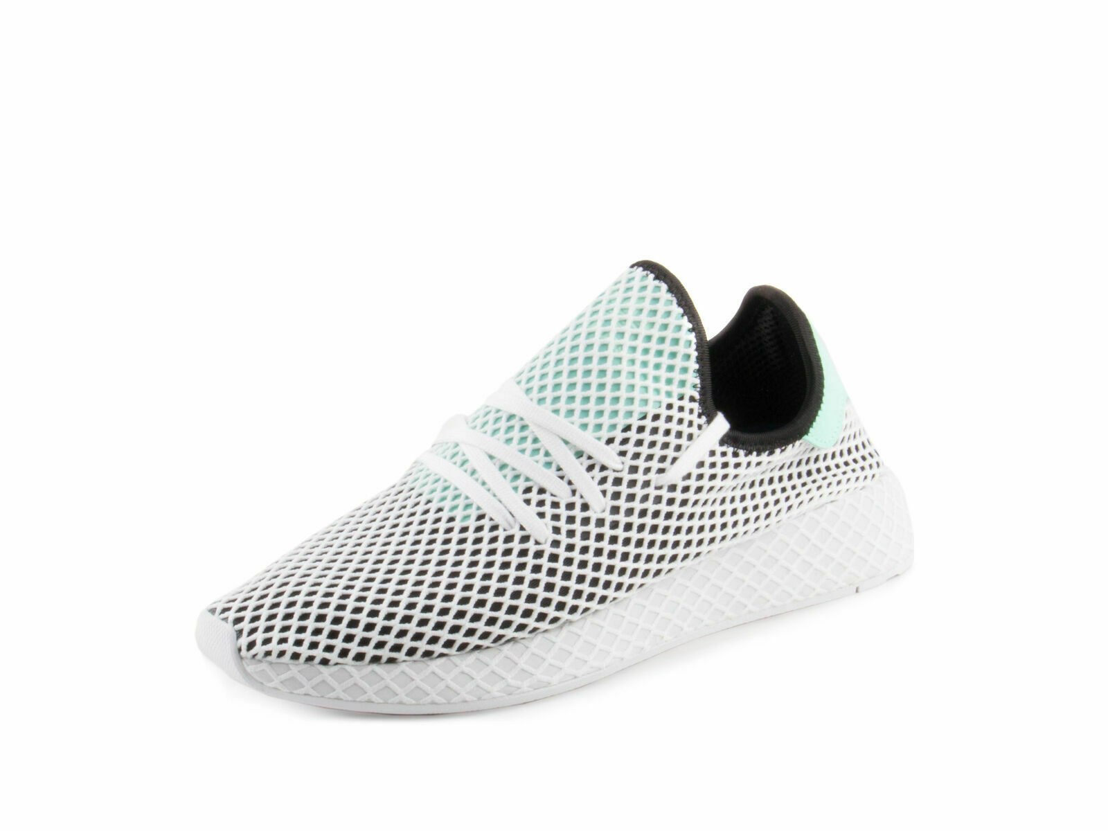 Adidas Originals Deerupt Runner Core Black Easy Green White B28076