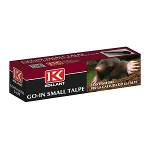 GO IN SMALL TALPE Trappola per talpe Cattura Talpa a tubo - Non contiene Veleno
