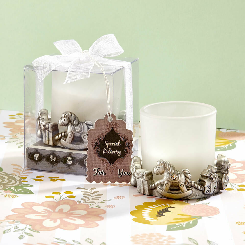 12-72 Unique Baby-Themed Candle - Baby Shower Birthday Favors