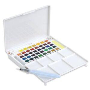 Sakura Koi Watercolor Paint Set with Brush 12 18 36 48 Colors Sketch Drawing