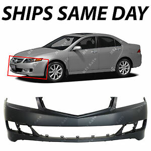 Painted to Match MBI AUTO AC1000156 Front Bumper Cover Fascia for 2006-2008 Acura TSX 06-08