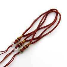 Hand Crafted Natural Jadeite Jade Bead Silk Cord For Car Hanging