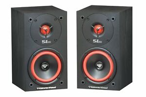 One-Pair-Cerwin-Vega-SL-5M-Bookshelf-Speakers-5-1-4-034-2-Way-Set-Theater-Brand-New