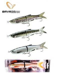 SAVAGE-GEAR-3D-GLIDE-SWIMMER-205-JOINTED-8-034-BASS-STRIPER-MUSKY-LURE-SELECT-COLOR